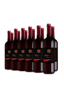 Piedirosso Pompeiano I.G.P. Rosso – Confezione da 12 bottigline da L. 0,375